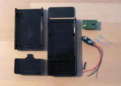 Poppomat Prototype Parts